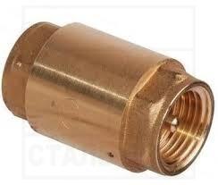 Клапан обратный <br>ДУ15-50, Ру16 <br>латунный, муфтовый
