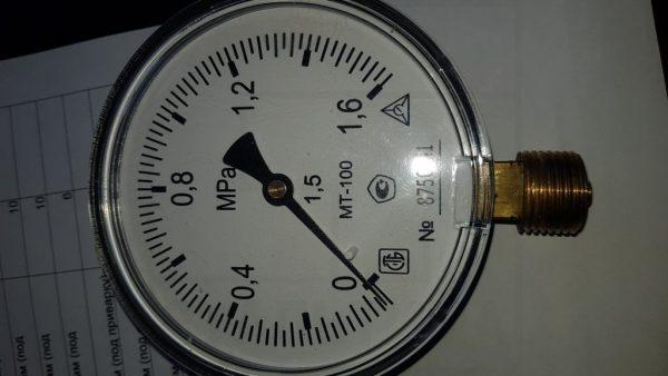 Манометры, термометры, моновакуометры