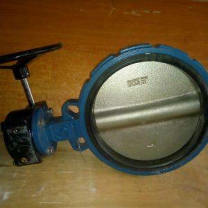 Затворы дисковые поворотный «Баттерфляй» ДУ250 Ру16 с редуктором