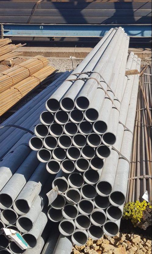 Трубы бесшовные ⌀5-219мм, 40х40-300х300 оцинкованные