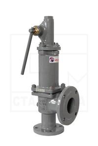 Клапан СППК4Р <br>предохранительный <br>ДУ15-40, Ру16-40 <br>17с56нж(1,2,3) <br>стальной, фланцевый