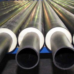 Трубы предизолированные <br>Ø25-100мм <br>пенополиуретаном