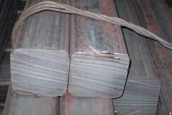 Квадрат стальной, калиброванный, горячекатаный